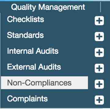 navigate to non-compliance